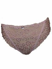 7212 SEXY PACK OF 2 BRIEFS PEACH LACE FULL BRIEF LADIES
