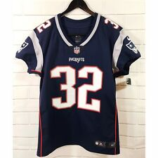NWT Nike On Field New England Patriots NFL Blue Football Jersey #32 Size 44