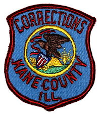VERMILION COUNTY ILLINOIS IL DOC CORRECTIONS OFFICER SHERIFF POLICE PATCH