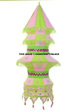 Lamp Shade Lamps Indian Bohemian Traditional Cotton Ethnic Vintage Decorative