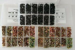 NUT & BOLT KIT 1000pc SUIT MAZDA RX2,RX3,RX4,RX5,RX7,RX8,121,323,626,808,929