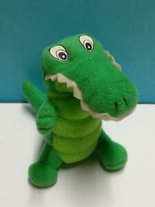 Mcdonald's Happy Meal 2000 Disney Green Crocodile Stuffed Plush Soft Toy (TY047)