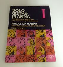 Solo Guitar Playing Book 1 Frederick M. Noad