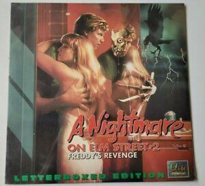 A Nightmare on Elm Street 2 Freddy's Revenge laserdisc Elite horror slasher