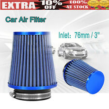 Universal Car Air Intake Filter Induction Kit High Power Sport Mesh Clearer 76mm
