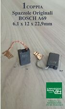 Spazzole A69 carboncino per Trapano BOSCH GBH5400 / GSH5-X / GSH5-40D / TSH5000