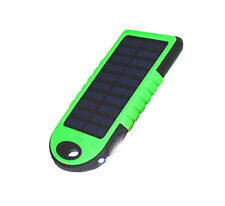 US 100000mAh Solar Power Bank Dual USB Portable External Battery Charge Phone