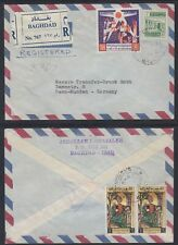 Irak IRAQ commercial r-COVER to Germany [ca636]