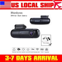 Blueskysea B1W HD 1080P Car Dash Camera Vehicle DVR 150° Wide Angle w/ Hardwire