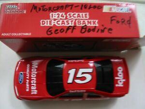 NASCAR 1/24 Club Bank Geoff Bodine Motorcraft  Ford Thunderbird 1 of 7,500