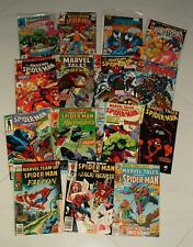 VINTAGE AMAZING SPIDER MAN COMIC BOOK COLLECTON LOT #6