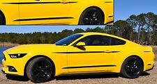 2015/2016/2017 Mustang [BAM] Body Accents/Side Stripe Vinyl Decals -MATTE Black