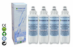 Panasonic CNRAH-257760 Compatible Fridge Water Filter Finerfilters FF-173 x 4