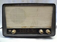 ANTIQUE/VINTAGE PYE RADIO MADE BY NATIONAL ECKO RADIO BEHALF PYE LTD ENGLAND OLD