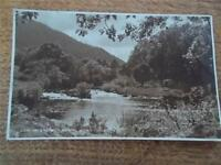 REAL PHOTO Watersmeet River Lledr and the Conway at Bettws Y Coed Conwy WALES
