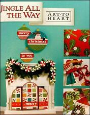 Jingle All The Way Quilt Book by Art to Heart