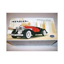 1935 Duesenberg Ssj Cuerpo De Metal Modelo Kit........ Testors coche fundido a presión, 1:32 Scale