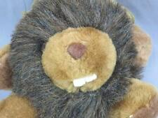 SOFT AND CUDLEE BROWN BEAVER BIG BUCK TEETH WOOD CHUCK PLUSH STUFFED ANIMAL TOY