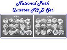 2010-2012 P&D  MINT NATIONAL PARK SET - ALL 30 COINS INCLUDING DENALI