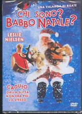CHI SONO ? BABBO NATALE ? - DVD (NUOVO SIGILLATO) LESLIE NIELSEN