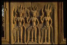 538059 Bass Relief Stone Carvings At Angkor Wat Cambodia A4 Photo Print