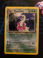Meganium 10/111 Great Condition! Neo Genesis Holo Foil Rare Pokemon Card