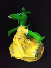 "HTF The Library Dragon Flip Doll Stuffed 12"" Toy Carmen Deedy With Tag"