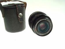 Vintage Camera Lens MC FLEKTOGON 2,4 / 35 Carl Zeiss Jena DDR 66552 Nr 8546
