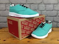 VANS UK 10.5 EU 27.5 TURQUISE ISO 1.5 DOTS CHILDRENS BOYS GIRLS TRAINERS