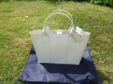 *Paperthinks* Tote Hand Bag - Recycled Leather - Ivory