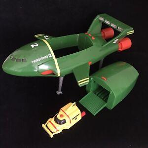 Thunderbirds Large Thunderbird 2 and 4 Toys Matchbox 1992 Bundle
