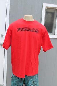 Perceptionists Rap Mr Lif Def Jux Akrobatik Fakts OG Vintage Mens Red XL T-Shirt