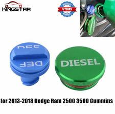 Diesel Fuel Tank Caps DEF Cap Aluminum for 2013-2018 Dodge Ram 2500 3500 Cummins