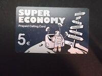 GREECE - Astronaut, BPS prepaid card 5 euro SPACE USED GRIECHENLAND GRECIA GRECE