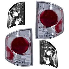New 3D Style Chrome Tail Light PAIR FOR 1994 1995 1996 1997-2004 GMC Sonoma