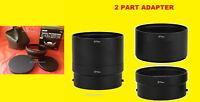 HD 0.43x WIDE ANGLE LENS MACRO+ADAPTER CAMERA NIKON COOLPIX P600 P610 B700 72mm