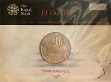 Titanic Remembered, An Official Royal Mint Medal Or Coin, In Card Display.