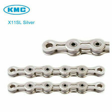 KMC X11SL11 Speed Bicycle Chains Racing Chain 116 Links for MTB Road Bike Silver