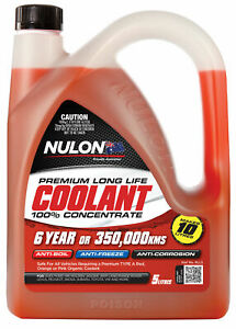 Nulon Long Life Red Concentrate Coolant 5L RLL5 fits Holden Crewman VY 5.7 V8...