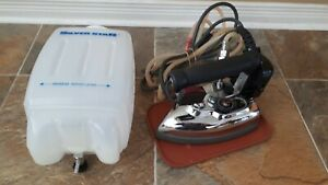 Silver Star ES-85AF Gravity Feed Electric Steam Iron - Complete set Tailor
