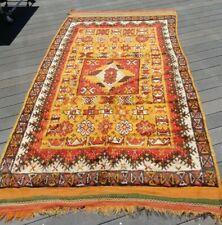Vintage Moroccan rug, 9 X 5 ft., good color condition