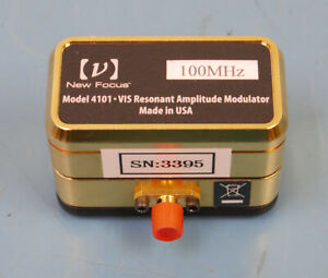 New Focus Model 4101 VIS Resonant Amplitude Modulator