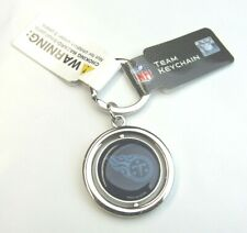 NFL Tennessee Titans Spinning Logo Key Ring Keychain Forever Collectibles