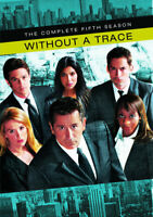 Without a Trace: The Complete Fifth Season (Season 5) (6 Disc) DVD NEW