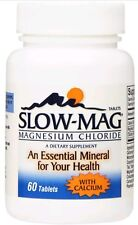 60ct Slow Mag Magnesium Chloride Dietary Supplement Tablets w/ Calcium