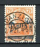 Danzig MiNr. 35 gestempelt gepr. Gruber + Kniep (L025