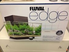 Fluval Edge Aquarium Black 21 LED, 6 Gallon BETTA BRAND NEW IN BOX
