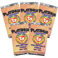 TY Beanie Babies Collectors Cards (BBOC) Platinum Membership Pack V1 (5 PACKS)