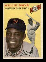 1954 Topps Set Break # 90 Willie Mays VG-EX MK *OBGcards*