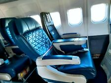 Delta Md90 Jetliner, Aircraft, Airplane First Class Leather Seats